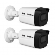 Kit 2 Câmeras HDCVI 4K 8 Megapixel 2.8mm 30m VHD 5830 B 4K Intelbras