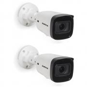Kit 2 Câmeras IP 2 Megapixels 40m Zoom Motorizado VIP 3240 Z G2 Intelbras