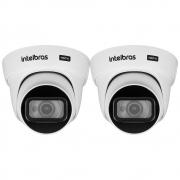 Kit 2 Câmeras HDCVI 4K 8 Megapixel 2.8mm 20m VHD 5820 D 4K Intelbras