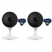 Kit com 2 Câmeras Wi-Fi Inteligente Full HD Smart IZC 1003 Intelbras
