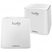 Kit 2 Roteadores Wireless Mesh Dual Band Twibi Giga+ Intebras