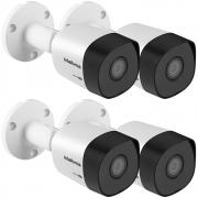 Kit 4 Câmeras Multi HD 1 Megapixel 3.6mm 30m VHD 3130 B G6 Intelbra
