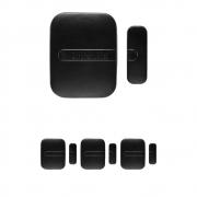 Kit 4 Sensores Magnético de Abertura Sem Fio de Porta e Janela XAS SMART BLACK Intelbras