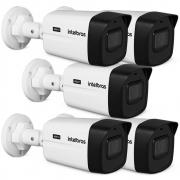 Kit 5 Câmeras HDCVI 4K 8 Megapixel 2.8mm 30m VHD 5830 B 4K Intelbras