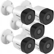 Kit 5 Câmeras Multi HD 2 Megapixel 3.6mm 30m VHD 3230 B G6 Intelbras