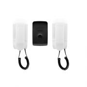 Kit Porteiro Eletrônico com 2 Interfones IPR 1010 Intelbras