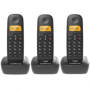 Kit Telefone Sem Fio TS 2510 + 2 Ramais TS 2511 Intelbras