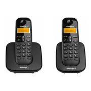Kit Telefone Sem Fio Ts 3110 + 1 Ramal Ts 3111 Intelbras