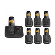 Kit Telefone Sem Fio Ts 3130 + 6 Ramais Ts 3111 Intelbras