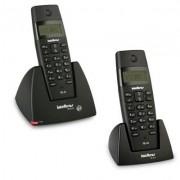 Kit Telefone Sem Fio TS 40 ID + 1 Ramal TS 40 R Intelbras