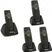 Kit Telefone Sem Fio TS 40 ID + 3 Ramais TS 40 R Intelbras