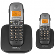 Kit Telefone Sem Fio TS 5120 + 1 Ramal TS 5121 Intelbras