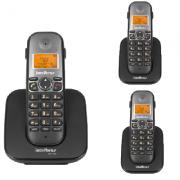 Kit Telefone Sem Fio TS 5120 + 2 Ramais TS 5121 Intelbras