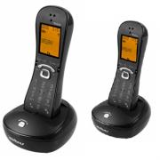 Kit Telefone Sem Fio TS 8220 + 1 Ramal Preto Intelbras