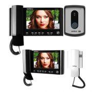 Kit Vídeo Porteiro Color IV 7010 HS + 1 Extensão Vídeo IV 7000 HS IN + 1 Extensão Áudio IV 7000 EA Intelbras