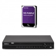 Dvr Stand Alone 32 Canais Multi Hd H.265 Mhdx 1132 + HD 1 Tera Intelbras