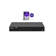 Dvr Stand Alone 32 Canais Multi Hd H.265 Mhdx 1132 + HD 4TB Intelbras