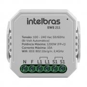 Mini Controlador Smart Wi-Fi para 1 Interruptor EWS 211 Intelbras