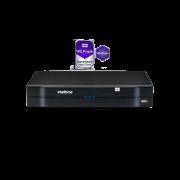 Gravador de Vídeo NVR 08 Canais Full HD NVD 1208 + HD 1TB Intelbras