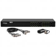 Power Balun 16 Canais Full HD com Alimentação VB 1016 WP Intelbras