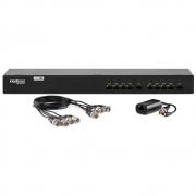 Power Balun 8 Canais Full HD com Alimentação VB 1008 WP Intelbras