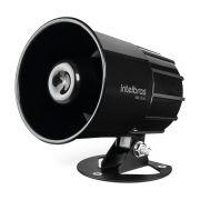 Sirene Magnética Alarme e Cerca 9 a 15 VDC 115dB SIR 2000 Preto Intelbras