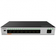 Switch 9 Portas Fast Ethernet SF 900 HI POE+ Intelbras