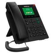 Telefone IP Voip 6 Contas SIP PoE c/Display Colorido V5501 Intelbras