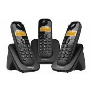 Telefone Sem Fio Com 2 Ramais Adicionais TS 3113 Intelbras