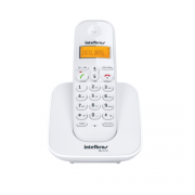 Telefone Sem Fio Com Identificador TS 3110 Branco Intelbras