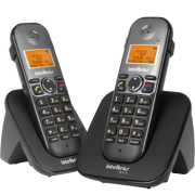 Telefone Sem Fio Com Ramal Identi Chamada Intelbras TS 5122