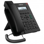Telefone IP Voip 2 Contas SIP PoE c/Display V3001 Intelbras