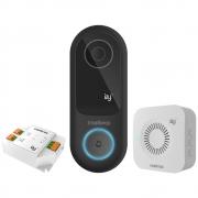 Videoporteiro Smart Wi-Fi Atendimento Via Aplicativo Smartphone, Campainha e Relé IVW 3000+ Intelbras