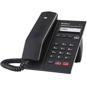 Telefone Ip Voip Intelbras Com Display Gráfico Tip 125
