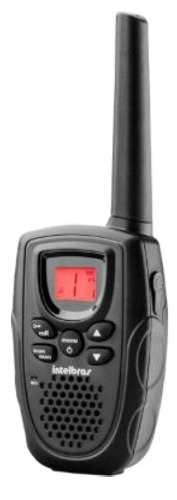 Rádio Comunicador Bateria Recarregável Rc 5001 Intelbras