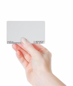 Cartão De Acesso Crachá RFID 125 Khz TH142L - Automatiza