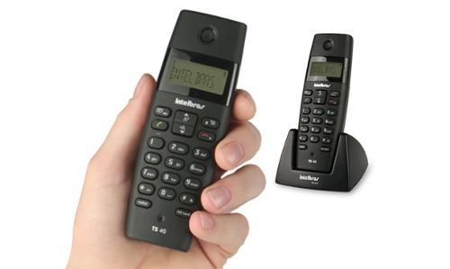 Telefone Com Ramal E Identificador Chamada TS 40 C Intelbras