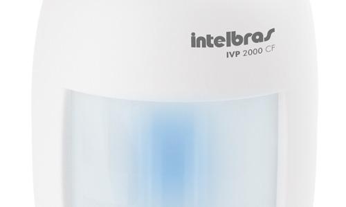 Sensor Alarme Passivo Infravermelho Com Fio IVP 3000 CF Intelbras