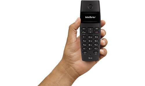 Telefone Sem Fio Com Maior Alcance Dect 6.0 Intelbras TS 40