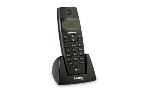 Telefone Ramal Sem Fio Com Identificador TS 40 R Intelbras