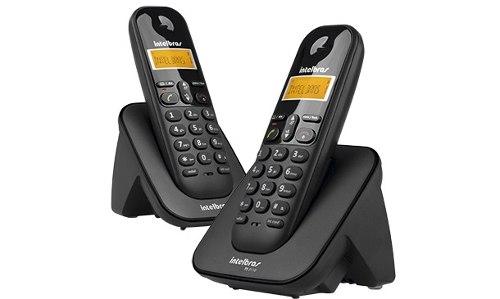 Telefone Sem Fio Com Ramal Identi Chamadas Intelbras TS 3112