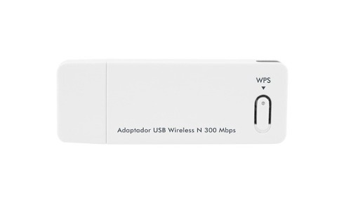 Adaptador Wireless Wi-Fi USB N 300 Mbps 20 dBm 2,4 GHz WBN 300 - Intelbras