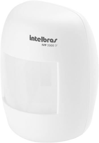 Sensor Alarme Passivo Sem Fio 100 mts IVP 2000 SF Intelbras