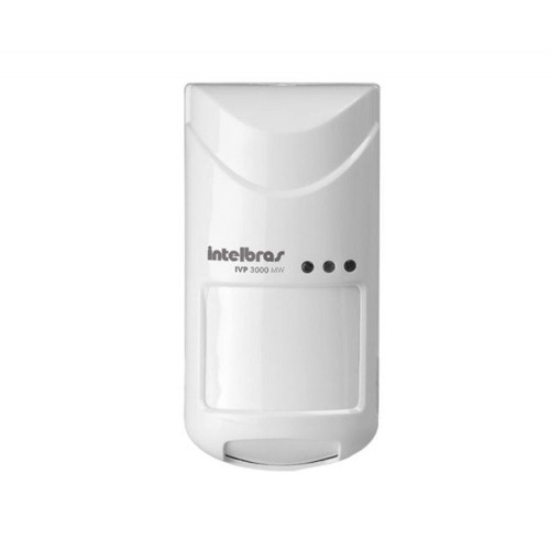 Sensor Alarme Passivo Microondas Intelbras IVP 3000 MW PET