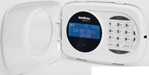Teclado Lcd Para Central De Alarme Intelbras XAT 2000 LCD
