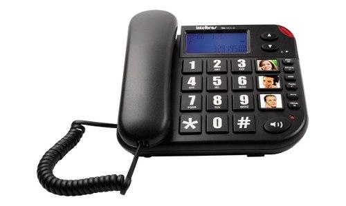 Telefone Com Identificador De Chamadas Intelbras TOK FACIL ID