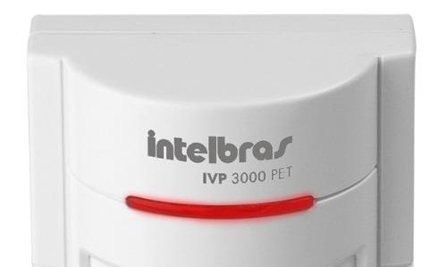 Sensor Alarme Passivo Infra Pet 35 Kg IVP 3000 PET Intelbras