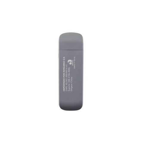 Adaptador Wireless Wi-Fi Dual Band 2,4Ghz 300Mbps e 5Ghz 867Mpbs Action A1200 Intelbras