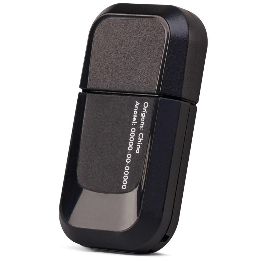 Adaptador Wireless USB 2,4GHz 300Mbps 2 Antenas 1,5 dBi - IWA 3000 Intelbras