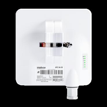 Antena CPE/PTP Outdoor 5 GHz com 20 dBi APC 5A 20 Intelbras